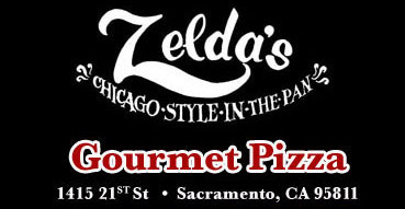 image of logo for Zeldas Chicago style gourmet pizza
